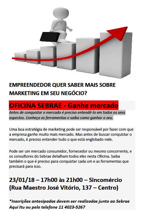 oficina Ganhe Mercado Sebrae